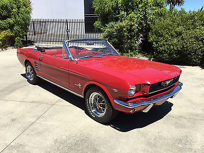 Ford 1966 Mustang Convertible 289