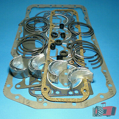 """RRK3555 Ring & Bearing Kit Ford 5000 6X Tractor w BSD442 4Cyl Diesel 4.2"""" Engine"""
