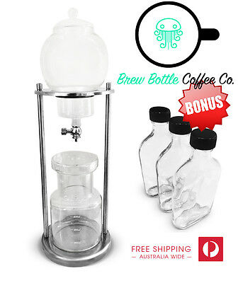 Cold Brew Coffee Maker Dutch Ice Drip *BONUS 3 Bottles Free* Australian Stockist