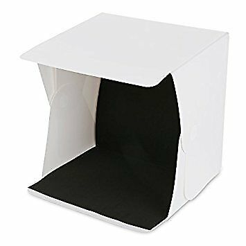 Amzdeal Light Box Kit Foldable Studio Light Box Portable Photo Studio Tent