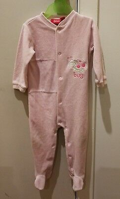 Sprout Girl Pink Jumpsuit/onepiece/ Romper Bodysuit- Size 0
