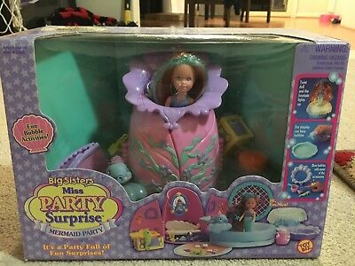 Big Sisters Miss Party Surprise Mermaid Party Set