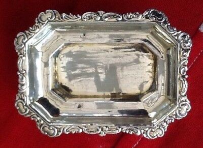 Russian Silver Salt, Very Pretty, 38 Gms...Antique Quality Item.