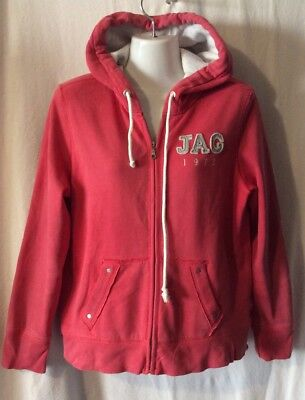 Unisex Red Hoodie (Jag), Size 12 (S)