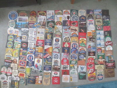 162 different AUSTRALIAN  BREWERIES collectable BEER COASTERS