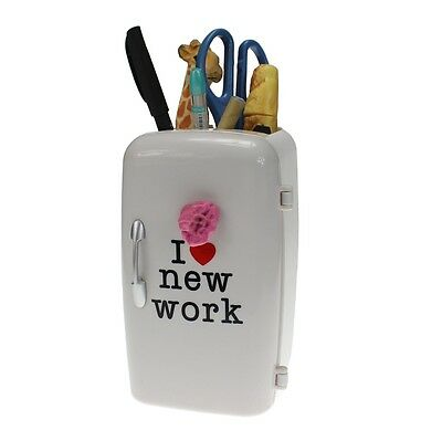 Office Gifts Mini Refrigerator Shaped Pen Holder