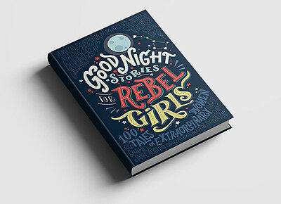 Good Night Stories for Rebel Girls by Elena Favilli Hardcover FREE FAST SHIPPING