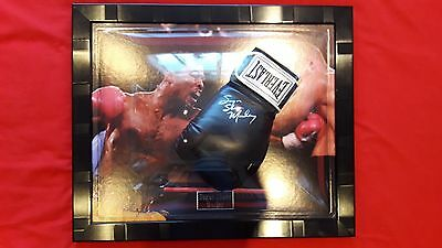 "Hand Signed ""Sugar Shane"" Mosley Black Everest Boxing glove"