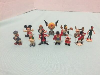 Vintage Marx Disneykins 1960's Lot Of 12