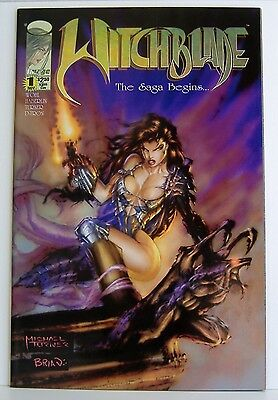Witchblade 1VF+ 1995 Michael Turner cover