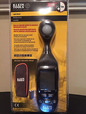 Klein ET130 Digital Light Meter NEW!