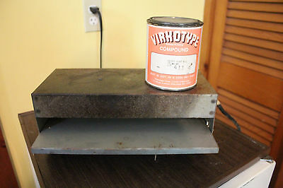 Table-Top THERMOGRAPHY OVEN w/ 1/2 can Virkotype Raised Print Powder