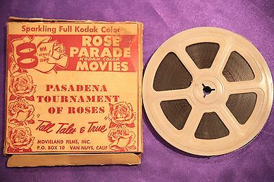 Pasadena Tournament of Roses. Standard 8mm film