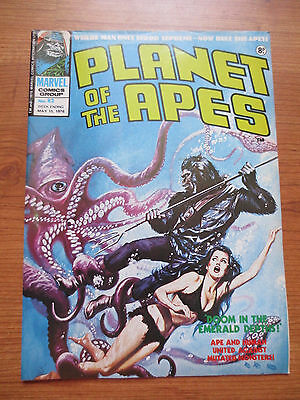 Marvel Comics Planet of the Apes  #82 UK Version