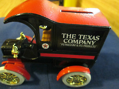 Texaco 1905 Ford Delivery Car #4 Collector Series  Mib