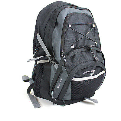Orbit 30L Rucksack Shoulder Bag Travel Camping Backpack Outdoor Luggage Charcoal