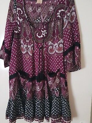 Gorgeous size 10 dress/longer top