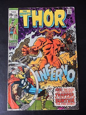Marvel Comics - The Mighty Thor Comic Book - No. 176 - May 1970