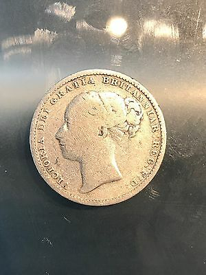 Great Britain 1882 1 Shilling, 5/9/17