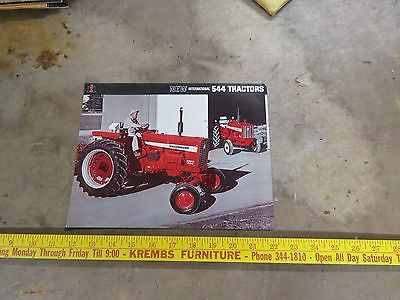 Introduction International 544 Tractor Brochure