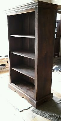 Large antique or reclaimed bookcase - oak. Gorgeous.
