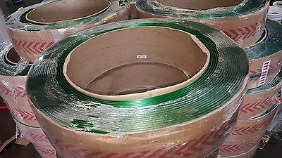 """Samuel Sm Plastic Strapping Coil 28, Green, 16 X 6, 3/4"""", 2,700', P3450Smg027B4"""