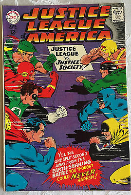 Justice League of America #56; DC Silver Age; Sept. 1967; VF (8.0)