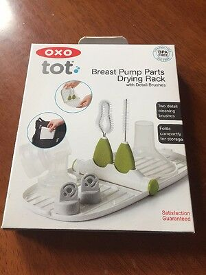 Brand New Oxo Tot Breast Pump Parts Drying Rack
