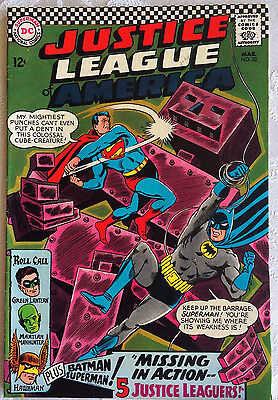Justice League of America #52; DC Silver Age; March 1967; VF- (7.5)