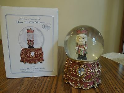 Precious Moments Musical Water Globe plays March from Nutcracker Suite