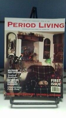 Period Living Magazine - First Issue - Febuary 1990