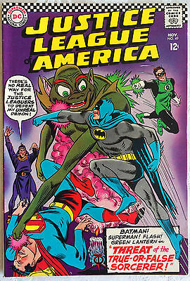 Justice League of America #49; DC Silver Age; Nov. 1966; VF (8.0)