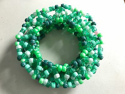 3D Green Kandi Cuff EDM, Raves, EDC, Ultra