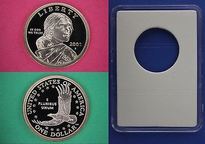 2002 S Proof Sacagawea Native America Dollar With DIY Slab Flat Rate Shipping