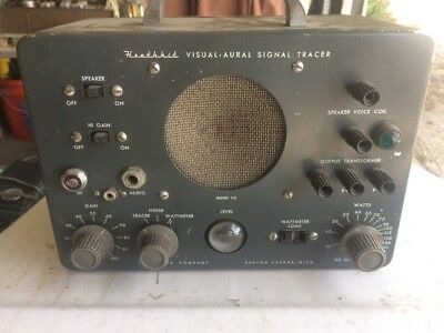Vintage Heathkit Precision Visual Aural Signal Tracer  Model T-3 Radio