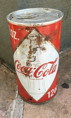 Early Coke Can Tab Top Intact