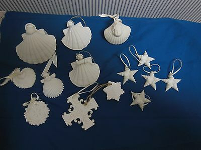 Margaret Furlong Ornament Collection- Different Sized Angels and Shapes
