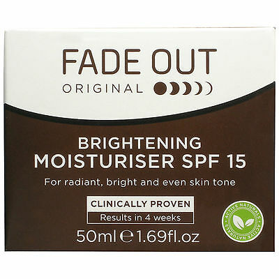 Fade Out Original Brightening Moisturiser  SPF 15 - 50ML