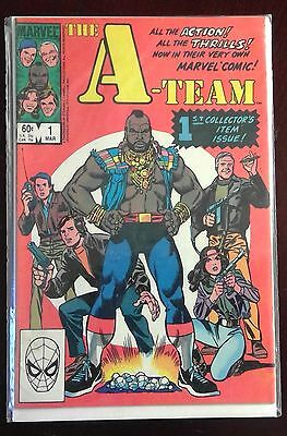 The A-TEAM #1 Marvel Comic T.V. adaptation from Mar. 1984 in VG condition
