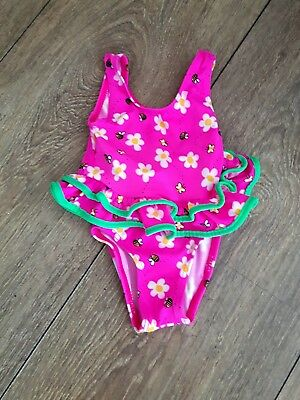 Baby Girls Swimming Costume Age 6-12 Months