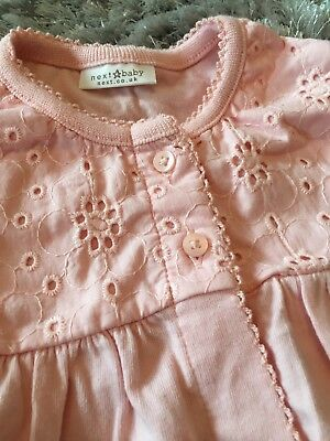 Next Baby Girl Coral Cardigan 0-3 Months