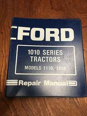 Ford Tractor Model 1010, 1110, 1210 Service Repair Manual.  SE-4300