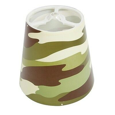 Kids Army Woodland Camouflage Bedroom Light shade Ideal Gift For Little soldiers