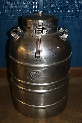 Aervoid Stainless Steel Insulated Thermal Container 5 Gallons Model 884