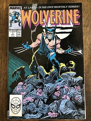 Wolverine 1 *high grade* 1st Cult of the Black Blade! Claremont Buscema