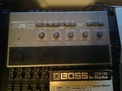 Vintage Rare Yamaha MR10 Analog Drum Machine