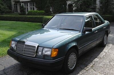 1987 Mercedes-Benz E-Class  1987 Mercedes 300D Turbo Diesel One Owner 77K Miles Rare Color Combo No Reserve