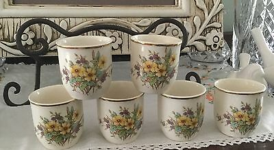 Lovely Royal Doulton Somerset Eggcup ( Six Available)
