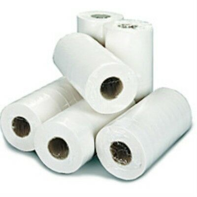2WORK H2W240 Hygiene Roll, 2-Ply, 250 Mm X 40 M, White (Pack Of 18)