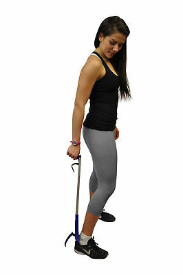 "NEW 32"" Shoehorn Long Handle Shoe Gripper and Reacher by Mars Wellness"